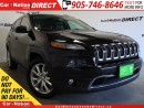 Used 2014 Jeep Cherokee Limited| LEATHER| NAVI| BACK UP CAMERA| for sale in Burlington, ON