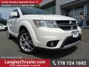 Used 2017 Dodge Journey GT ACCIDENT FREE w/ ALL-WHEEL DRIVE, LEATHER UPHOLSTERY & U-CONNECT BLUETOOTH for sale in Surrey, BC