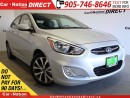 Used 2017 Hyundai Accent GLS| LOW KM'S| SUNROOF| HEATED SEATS| for sale in Burlington, ON