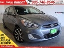 Used 2017 Hyundai Accent GLS| HEATED SEATS| ONE PRICE INTEGRITY| for sale in Burlington, ON