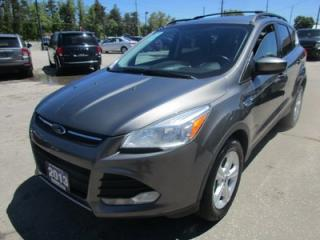 Used 2013 Ford Escape LOADED SE MODEL 5 PASSENGER 2.0L - DOHC.. 4WD.. LEATHER.. HEATED SEATS.. NAVIGATION.. TOUCH SCREEN DISPLAY.. for sale in Bradford, ON
