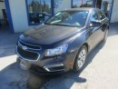 Used 2016 Chevrolet Cruze LOADED LT MODEL 5 PASSENGER 1.4L - TURBO.. CD/AUX/USB INPUT.. BACK-UP CAMERA.. KEYLESS ENTRY.. BLUETOOTH.. for sale in Bradford, ON