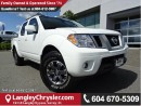 Used 2017 Nissan Frontier PRO-4X ACCIDENT FREE w/ 4X4, NAVIGATION & LEATHER UPHOLSTERY for sale in Surrey, BC