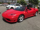 Used 2002 Ferrari 360 Spider *MANUAL* w/ F1 Racing Seats for sale in Vancouver, BC