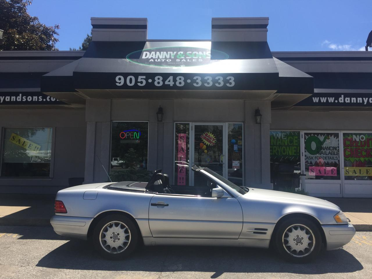 Used 1998 mercedes benz sl500 for sale in mississauga for Used mercedes benz sl500 for sale