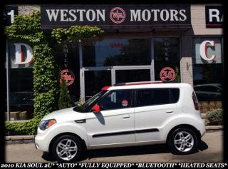 Used 2010 Kia Soul 2u *AUTO *FULLY EQUIPPED *BLUETOOTH *HEATED SEATS! for sale in York, ON