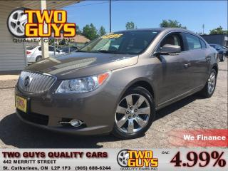 Used 2012 Buick LaCrosse Convenience Group NICE LOCAL TRADE IN! for sale in St Catharines, ON