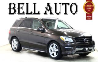 Used 2012 Mercedes-Benz ML-Class ML 350 BLUETOOTH NAVIGATION PANAROMIC ROOF for sale in North York, ON