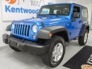 Used 2016 Jeep Wrangler Sport, trail rated, sporty blue, kill it in this rockin' ride for sale in Edmonton, AB