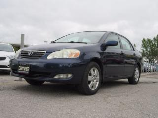 Used 2006 Toyota Corolla LE / ACCIDENT FREE for sale in Newmarket, ON