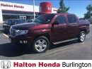 Used 2013 Honda Ridgeline TOURING/ LEATHER HEATED SEATS/ NAVIGATION for sale in Burlington, ON
