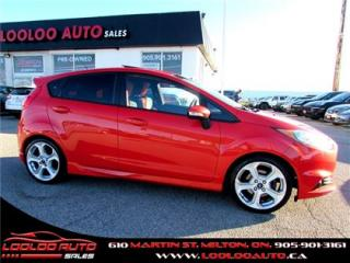Used 2014 Ford Fiesta ST Navigation Bluetooth Certified Warranty for sale in Milton, ON