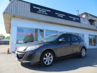 Used 2011 Mazda MAZDA3 AUTOMATIC,ALLOYS,LOADED,NO ACCIDENT CLAIMS for sale in Mississauga, ON