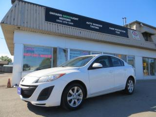 Used 2011 Mazda MAZDA3 LOADED,ALLOYS,A/C,MANUAL TRANSMISSION for sale in Mississauga, ON