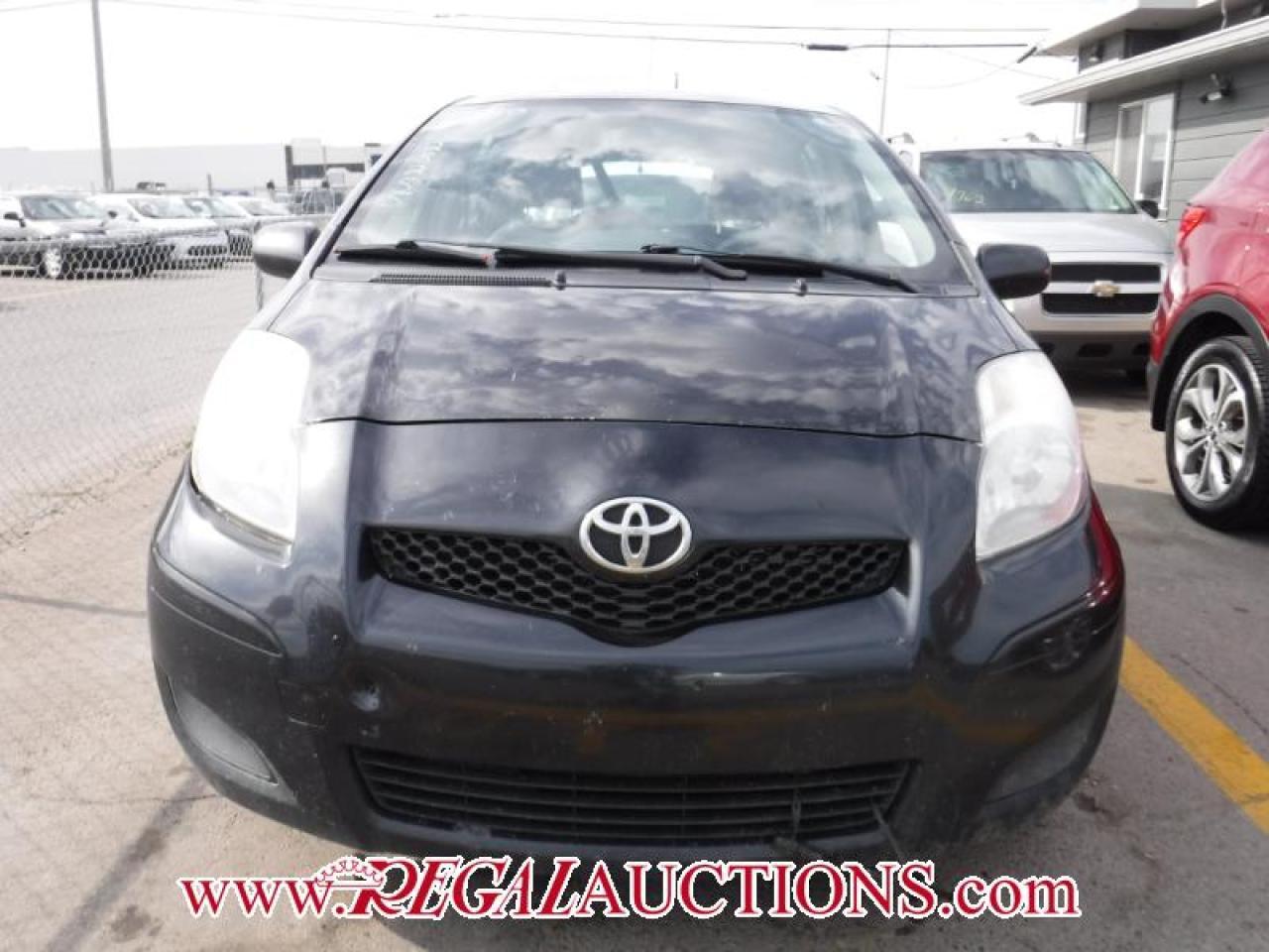 2010 Toyota YARIS  4D HATCHBACK