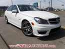 Used 2012 Mercedes-Benz C-CLASS C63AMG 4D SEDAN for sale in Calgary, AB
