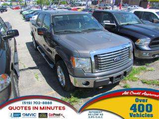 Used 2012 Ford F-150 XTR   SUPERCREW   4X4   V8   20 WHEELS for sale in London, ON