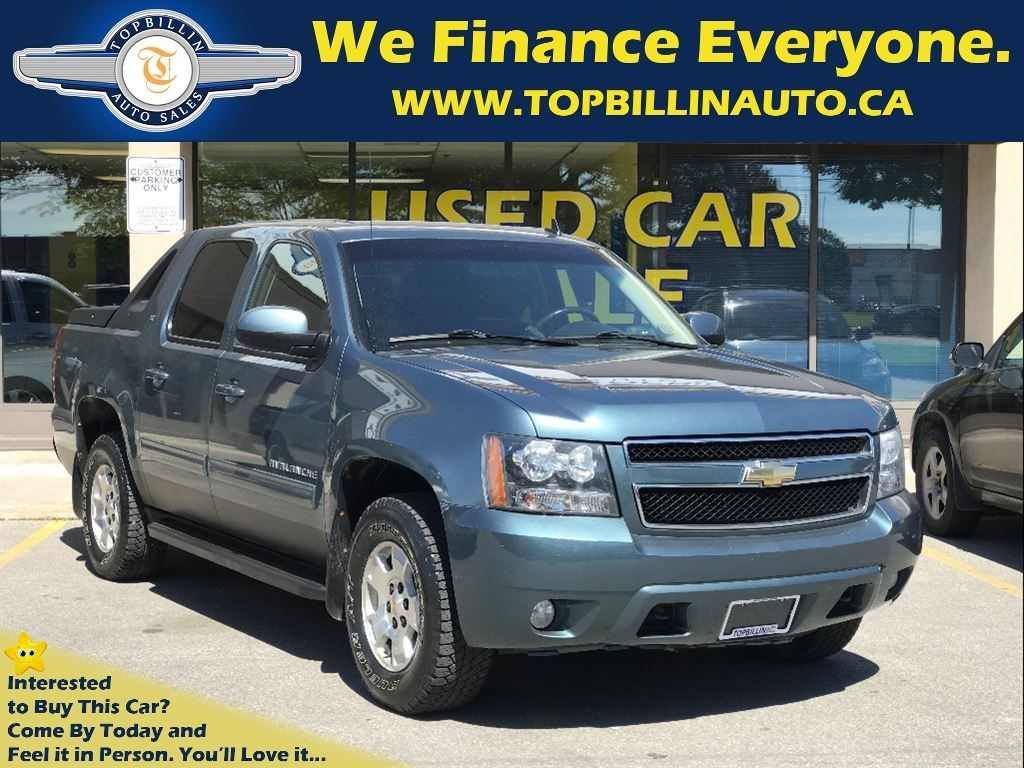 2010 Chevrolet Avalanche 1500 LT 4WD, 2 YEARS WARRANTY, ONLY 163K