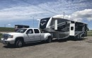 Used 2010 GMC Sierra 3500 HD TRUCK & RAPTOR TRAILER PKG for sale in Orono, ON