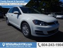 New 2017 Volkswagen Golf 1.8 TSI Trendline BLUETOOTH & MP3 DECODER, REAR PARKING CAMERA & SPOILER & SECURITY SYSTEM for sale in Surrey, BC