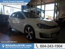 New 2017 Volkswagen Golf GTI 5-Door Autobahn FENDER PREMIUM AUDIO, APP-CONNECT, SPORT SUSPENSION for sale in Surrey, BC