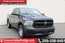 New 2017 Dodge Ram 1500 ST BACK UP CAMERA, KEYLESS ENTRY, SATELLITE RADIO, BLUETOOTH for sale in Courtenay, BC