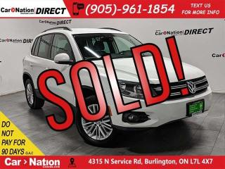 Used 2016 Volkswagen Tiguan Special Edition| LOCAL TRADE| AWD| BACK UP CAMERA| for sale in Burlington, ON