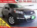 Used 2017 Chevrolet Traverse LS| AWD| BACK UP CAMERA| OPEN SUNDAYS| for sale in Burlington, ON