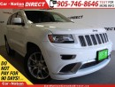 Used 2016 Jeep Grand Cherokee Summit| ECO DIESEL| DUAL DVD| PANO ROOF| for sale in Burlington, ON