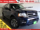 Used 2017 Ford Expedition XLT| LEATHER| SUNROOF| TOUCH SCREEN| for sale in Burlington, ON