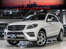Used 2015 Mercedes-Benz ML 350 AMG|DISTRONIC|MASSAGE|360CAM|NAVI|BLIUNDSPOT|LOADED for sale in North York, ON