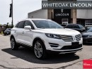 Used 2016 Lincoln MKC Reserve, EXTENDED WARRANTY, .9% TO 2.9% FINANCE for sale in Mississauga, ON