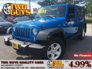 Used 2014 Jeep Wrangler UNLIMITED SPORT 4X4 CONVENIENCE GROUP for sale in St Catharines, ON