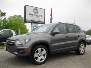 Used 2014 Volkswagen Tiguan COMFORTLINE for sale in Cambridge, ON