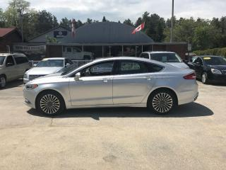 Used 2017 Ford Fusion SE for sale in Flesherton, ON