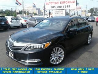 Used 2014 Acura RLX Tech Pkg Navigation/Leather/Sunroof for sale in Mississauga, ON
