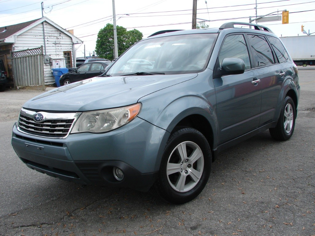 used 2010 subaru forester x touring for sale in mississauga ontario. Black Bedroom Furniture Sets. Home Design Ideas
