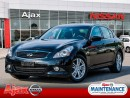 Used 2013 Infiniti G37 X Luxury*One Owner*Accident Free* for sale in Ajax, ON