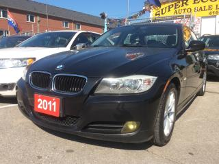 Used 2011 BMW 3 Series 323i/Bluetooth/Leather/Sunroof/Heated Seats for sale in Scarborough, ON
