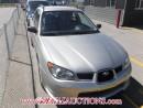Used 2006 Subaru IMPREZA RS 4D SPORT WAGON AWD for sale in Calgary, AB