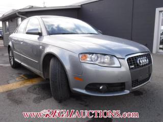 Used 2008 Audi A4  4D SEDAN QTRO 2.0T for sale in Calgary, AB