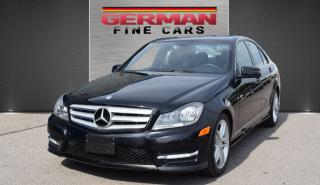 Used 2013 Mercedes-Benz C-Class C300 4 Matic SPORT PKG***NAVIGATION for sale in Concord, ON