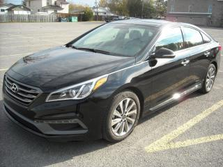 Used 2016 Hyundai Sonata 2.4L Sport Tech for sale in Orleans, ON