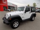 Used 2016 Jeep Wrangler Sport... LOW LOW KMS... ONE OWNER for sale in Milton, ON
