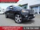 Used 2016 Jeep Grand Cherokee Limited ACCIDENT FREE w/ 4X4, LEATHER UPHOLSTERY & REAR-VIEW CAMERA for sale in Surrey, BC