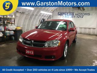 Used 2013 Dodge Avenger SXT*POWER SUNROOF*CLIMATE CONTROL*FOG LIGHTS*ALLOYS*U CONNECT PHONE*HEATED FRONT SEATS*POWER DRIVER SEAT*POWER WINDOWS/LOCKS/HEATED MIRRORS*CRUISE CONTROL*TRACTION CONTROL*AM/FM/XM/CD/AUX/USB*AUTO DIMMING MIRROR* for sale in Cambridge, ON