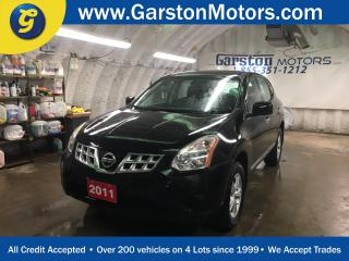 Used 2011 Nissan Rogue S*PHONE CONNECT*KEYLESS ENTRY*POWER WINDOWS/LOCKS/MIRRORS*TRACTION CONTROL*AM/FM/CD/AUX*CRUISE CONTROL* for sale in Cambridge, ON
