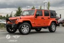 Used 2015 Jeep Wrangler Unlimited Sahara for sale in Langley, BC
