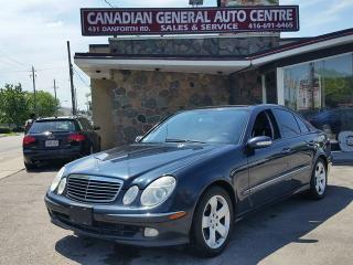Used 2005 Mercedes-Benz E500 5.0L 4MATIC for sale in Scarborough, ON