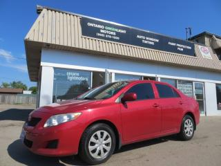 Used 2009 Toyota Corolla AUTOMATIC,CERTIFIED,AIR CONDITIONING for sale in Mississauga, ON